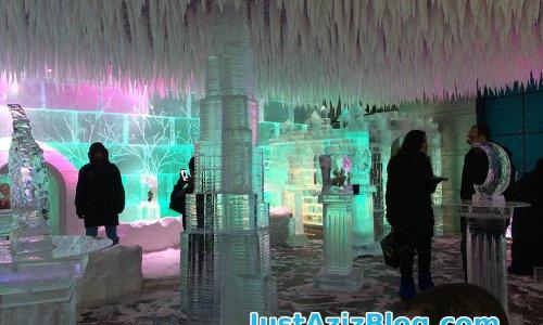 كافيه الثلجي في دبي Chill out cafe in Dubai